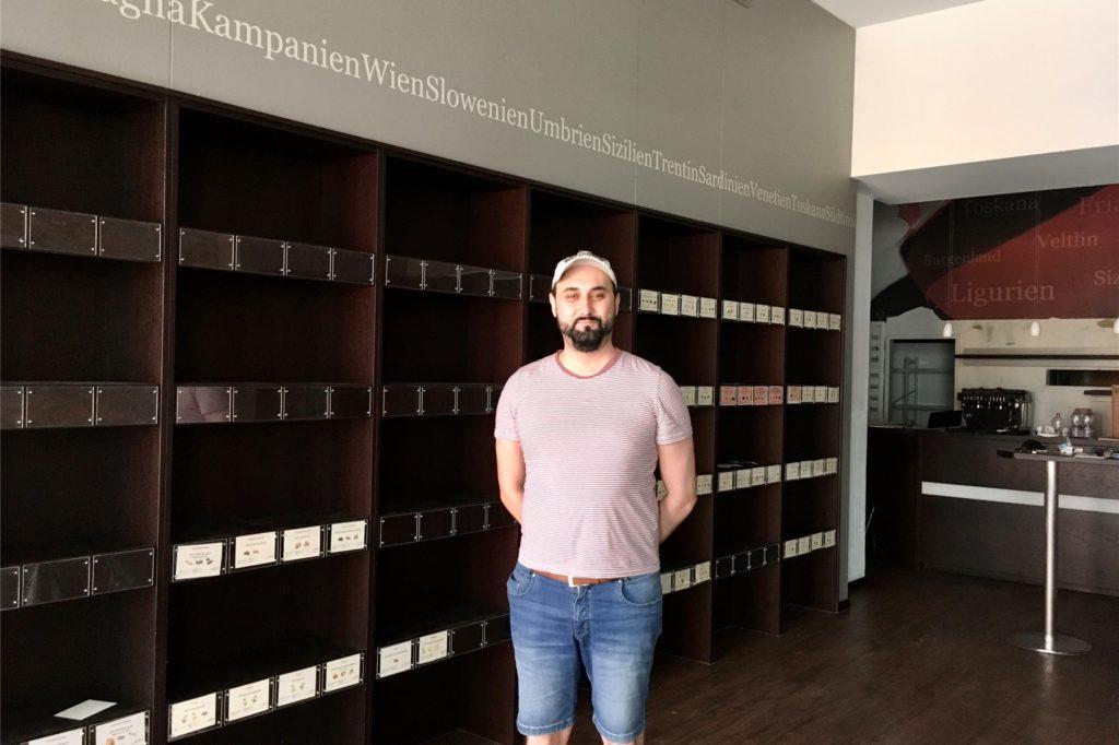 """Die alte Einrichtung des """"Weinkommissars"""