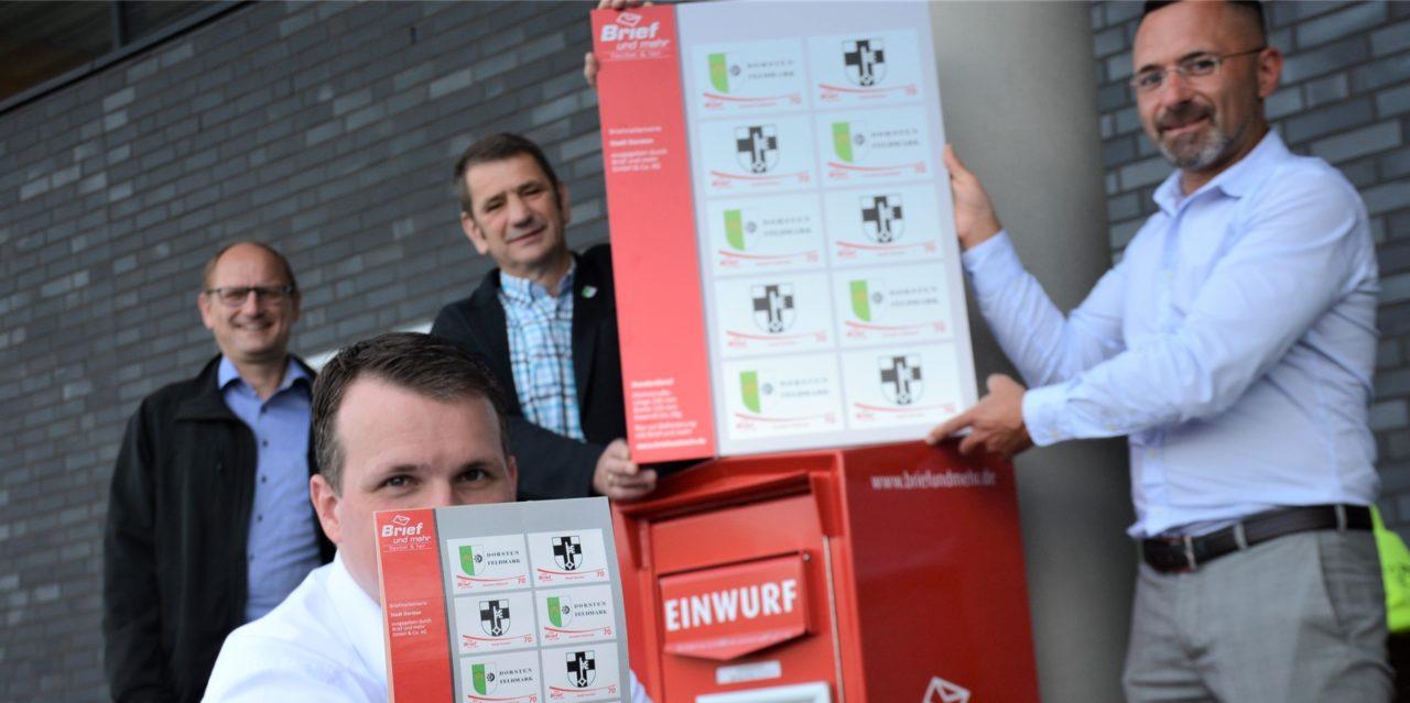 Stadt Dorsten und die Feldmark haben jetzt eigene Briefmarken
