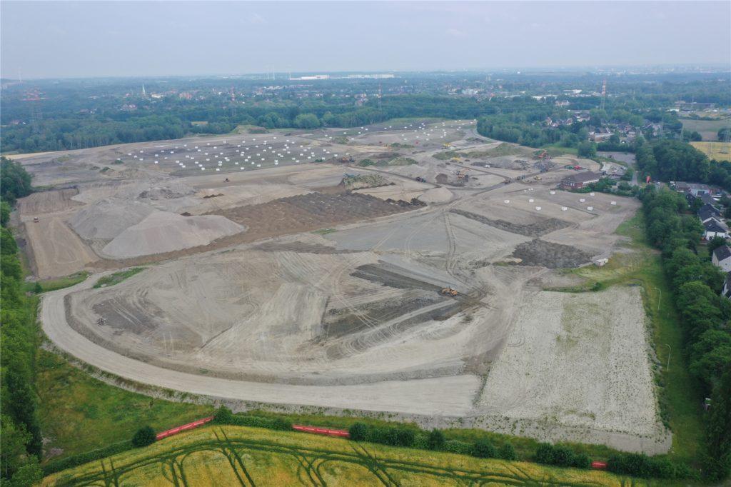 Die britische Firma Segro wird für den Neuaufbau des Geländes zuständig sein.