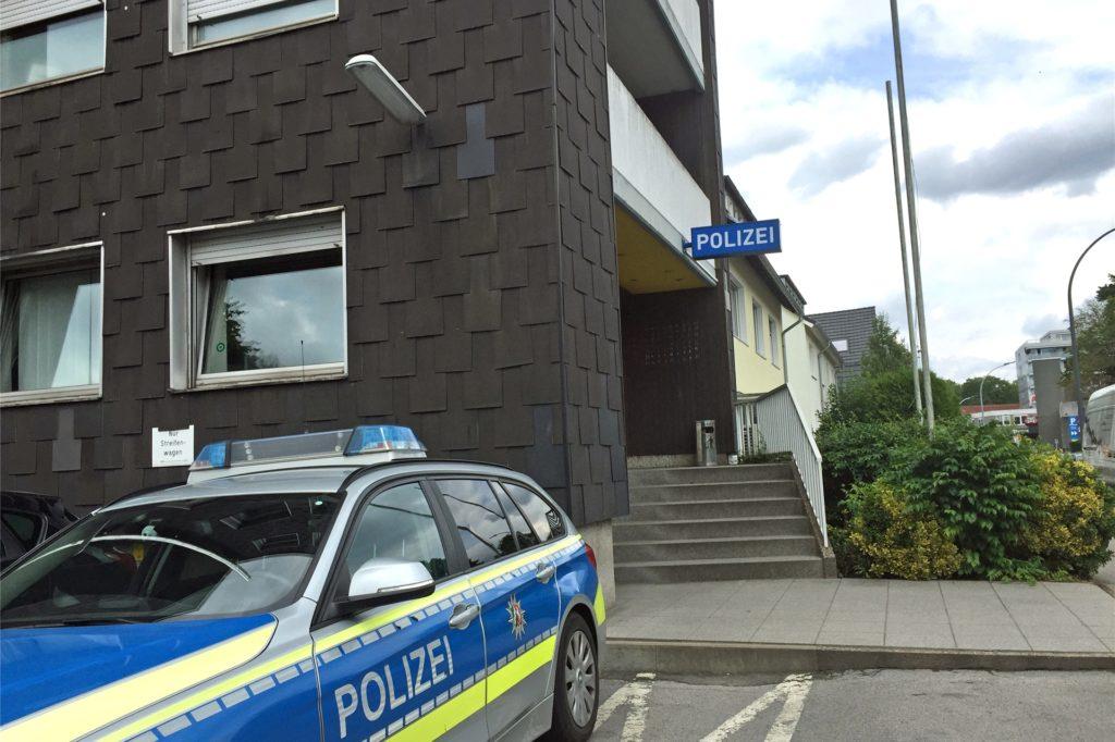 Die Polizeiwache Hombruch an der Löttringhauser Straße. Gerade wird ein neues Domizil gesucht.