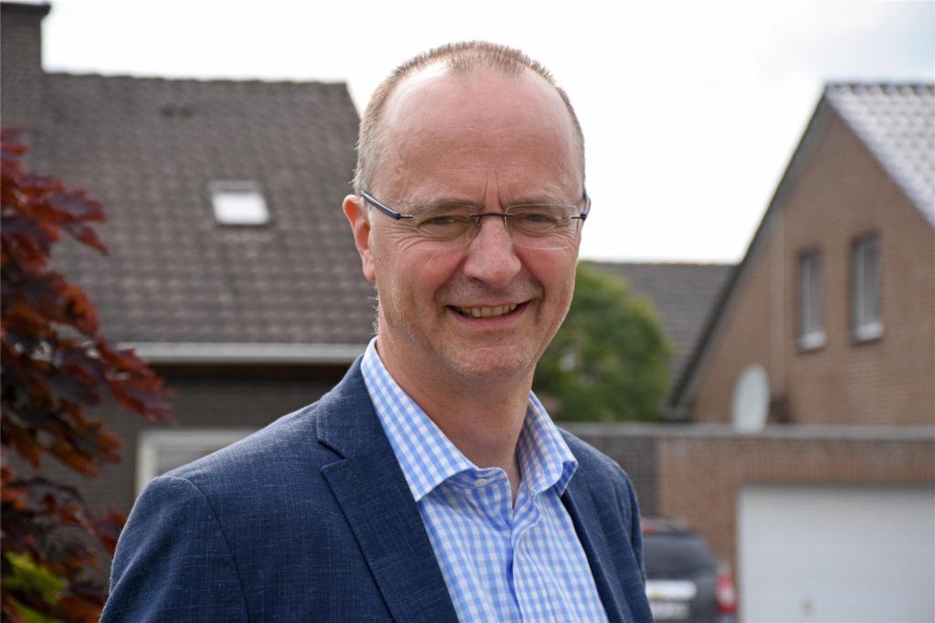 Gemeinsam mit einem Partner will Frank Austrup das Haus und das Grundstück am Gorbach neben der Wohnmobilanlage kaufen, um dort das Wohnprojekt