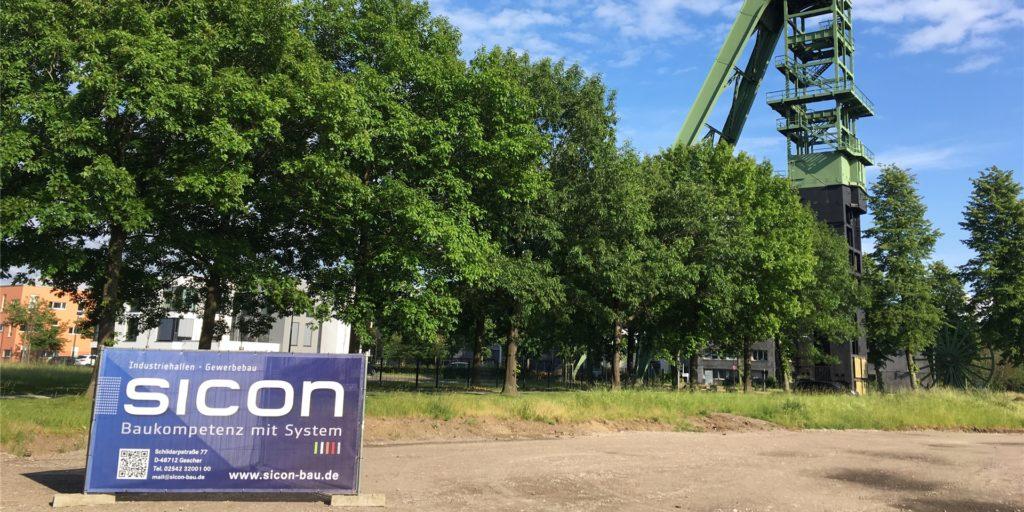 Der Partner für den Bau der neuen Halle plus Bürotrakt im Erinpark ist offenbar schon gefunden: Sicon aus Gescher
