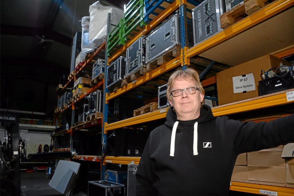 Jürgen Brüning, Geschäftsführer des Ahauser Unternehmens