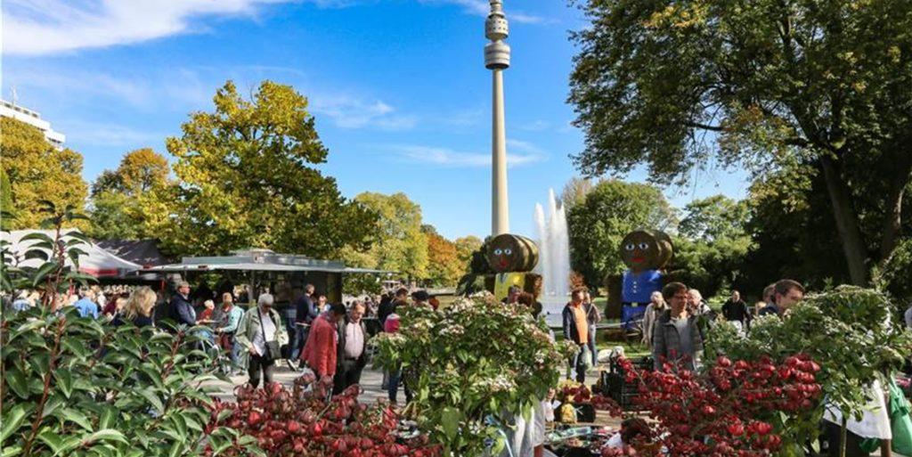 Der Eintritt in den Westfalenpark Dortmund ist in den Sommerferien für Kinder und Jugendliche umsonst.