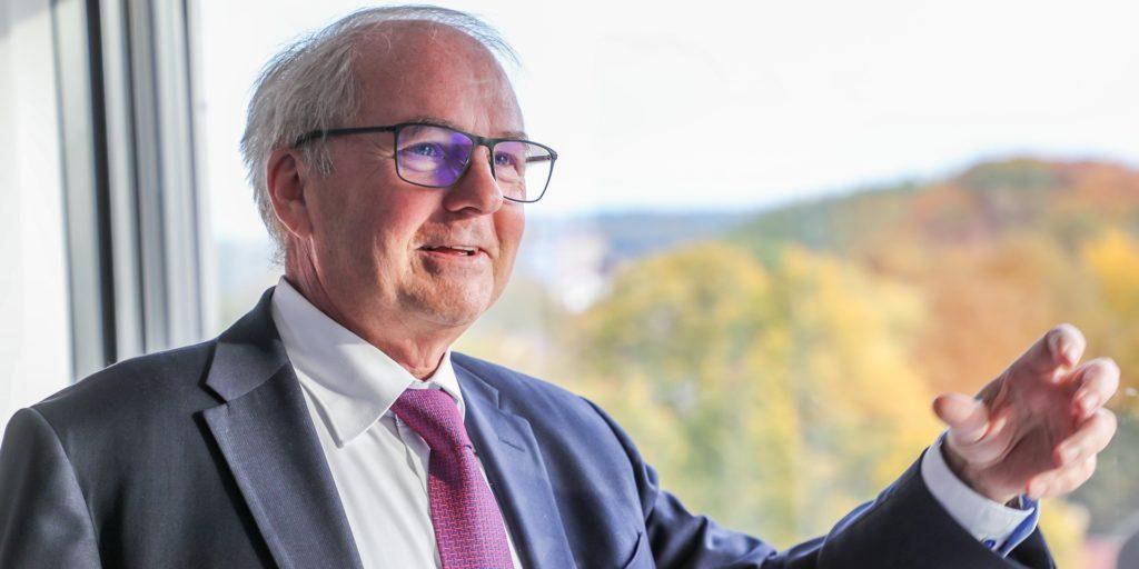 Heinz-Herbert Dustmann ist Präsident der IHK zu Dortmund.
