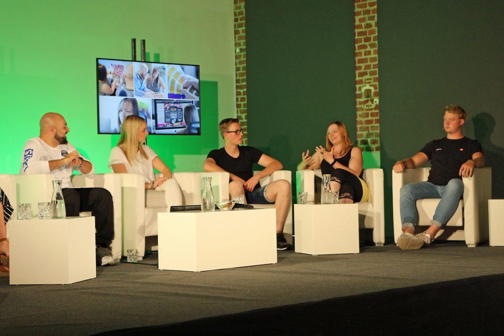 Die sechs Auszubildenden gewährten spannende Einblicke in die Gedankenwelt junger Menschen. Das Thema Wertschätzung spielte dabei eine große Rolle.