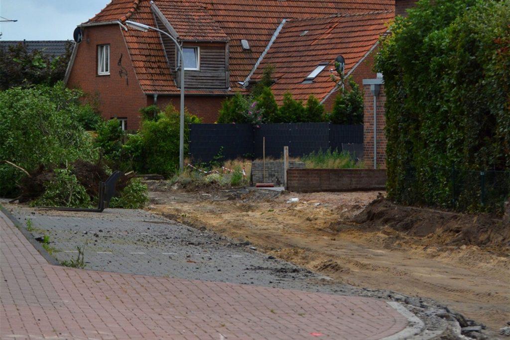 Für die Anwohner sind die Bauarbeiten zum Teil ein Ärgernis.