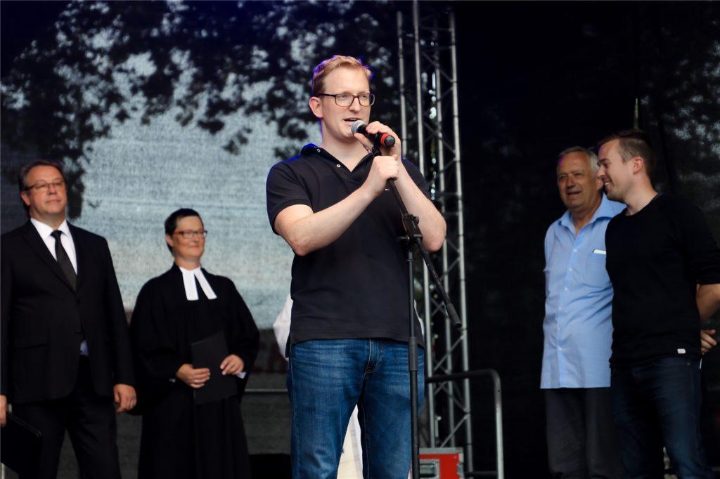 Stephan Kückelmann beim Kirchhellener Dorffest 2019