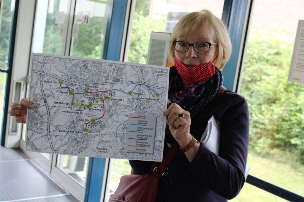 SPD fordert Ausbau der H-Bahn zum Parkhaus Barop