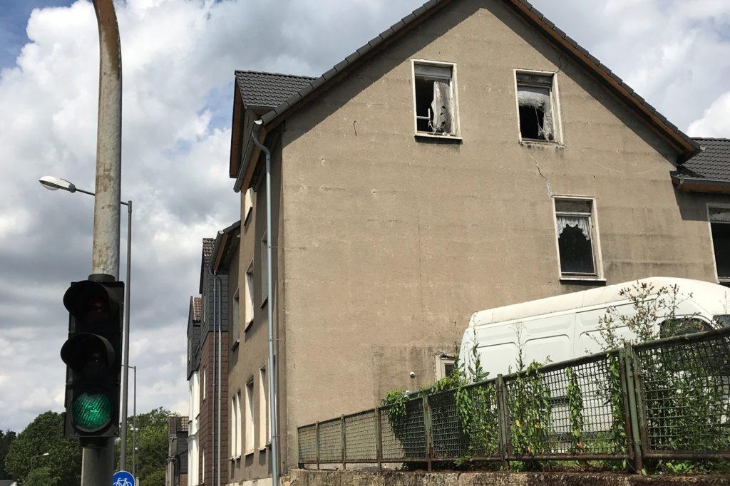 An der Wittener Straße 283 in Merklinde verfällt dieses Haus zusehends.