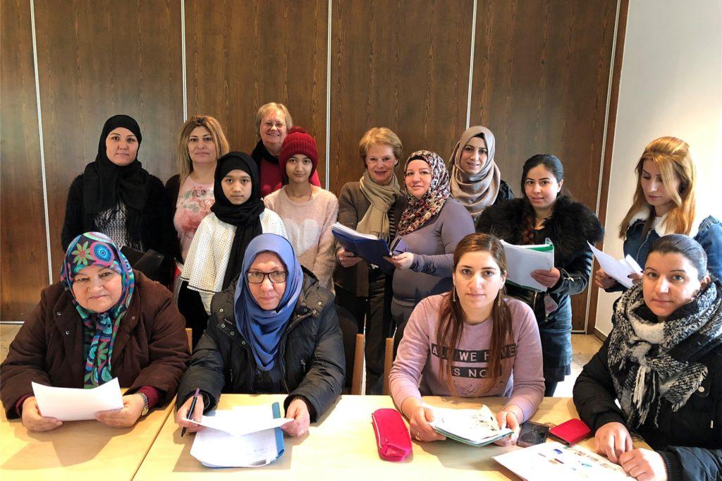 Deutschkurse für geflohene Frauen bildeten bis zu Beginn der Corona-Krise zuletzt den Schwerpunkt der Arbeit.