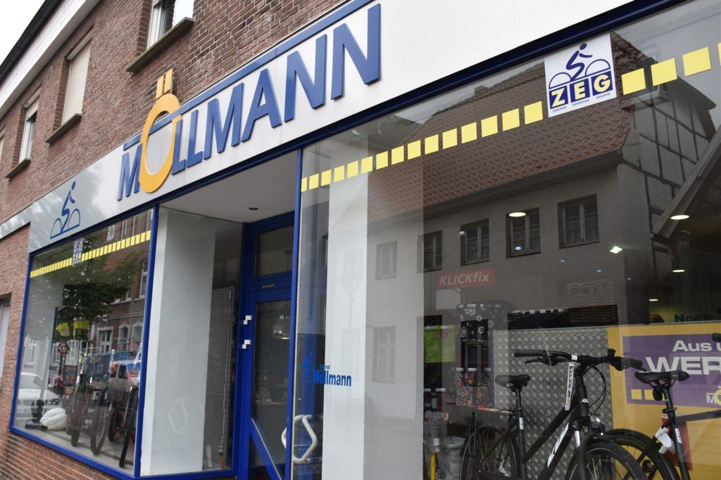 Seit Mitte April ist Zweirad Möllmann für seine Kunden in Werne wieder geöffnet - und profitiert von der Corona-Krise.