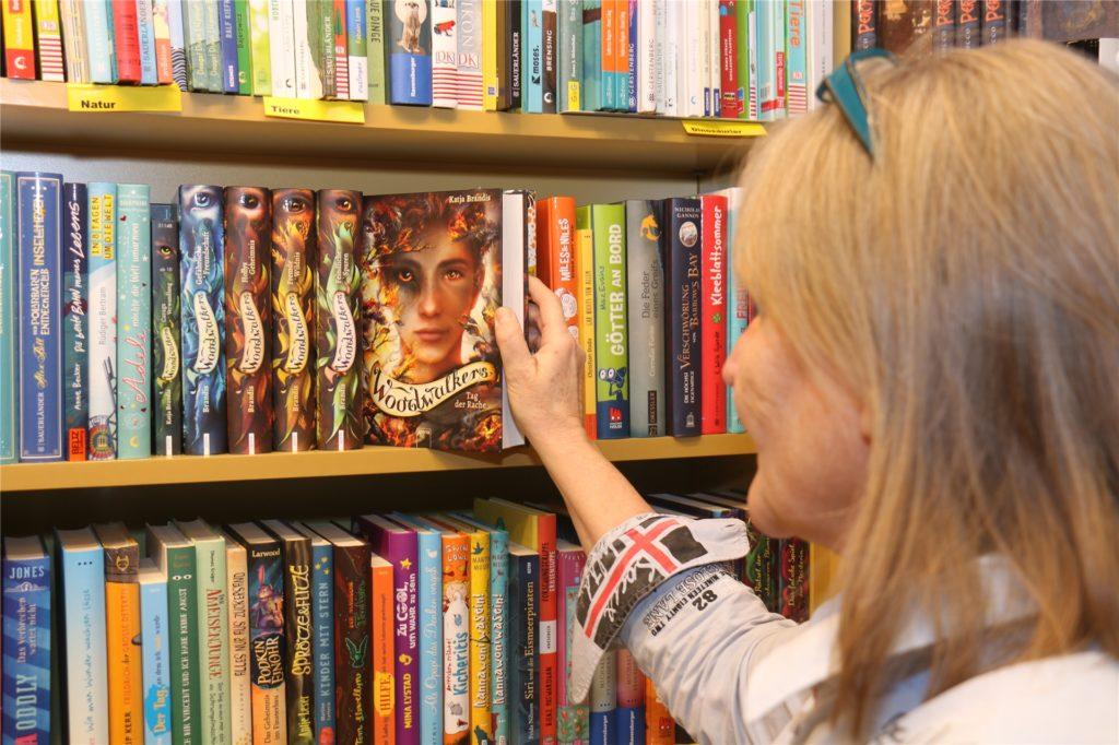 In der Kinder- und Jugendliteratur gibt es weniger Einbüßen.