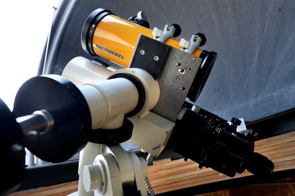 Mit diesen Teleskopen fotografiert Rainer Sparenberg Planeten und Galaxien.