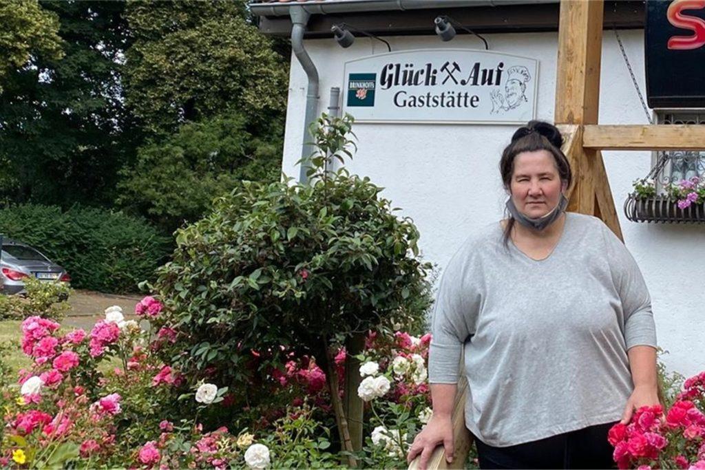 Die Wirtin Jasminka Jurcevic wirft dem Gartenverein vor, sie um mehrere Tausend Euro betrogen zu haben.