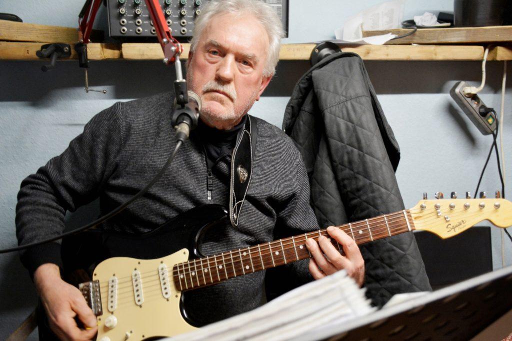 Gitarrist und Sänger Werner Terhechte