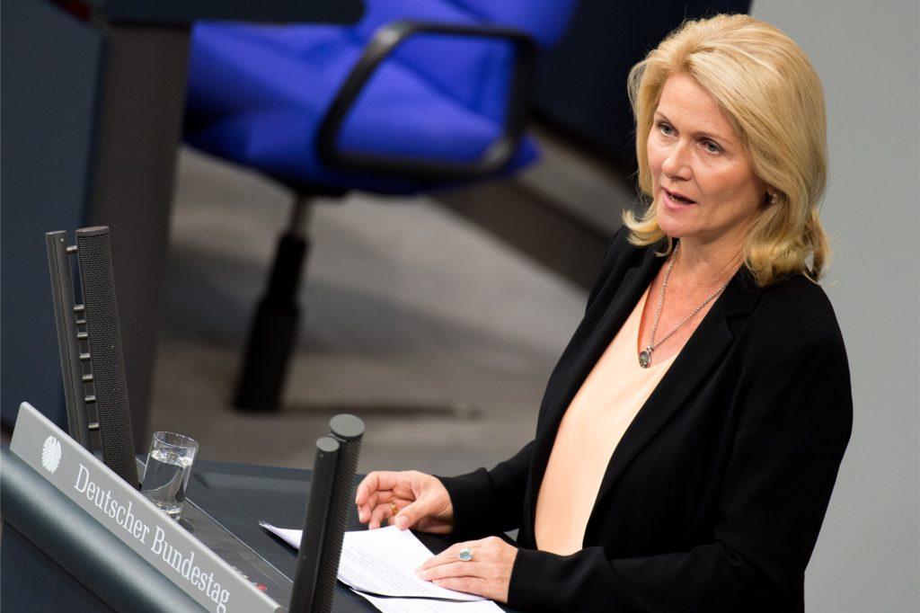 """Die Dortmunder SPD-Bundestagsabgeordnete Sabine Poschmann verweist darauf, dass die Verwendung der Soforthilfe """"vom Bund eindeutig kommuniziert"""" wurde."""