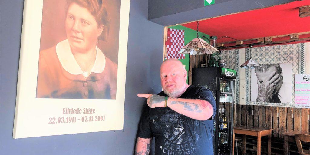 Nach seiner Oma hat Kay Fräder seine beiden Gastronomie-Betriebe in Dortmund benannt. Der kleinere in Kirchlinde musste nun schließen.