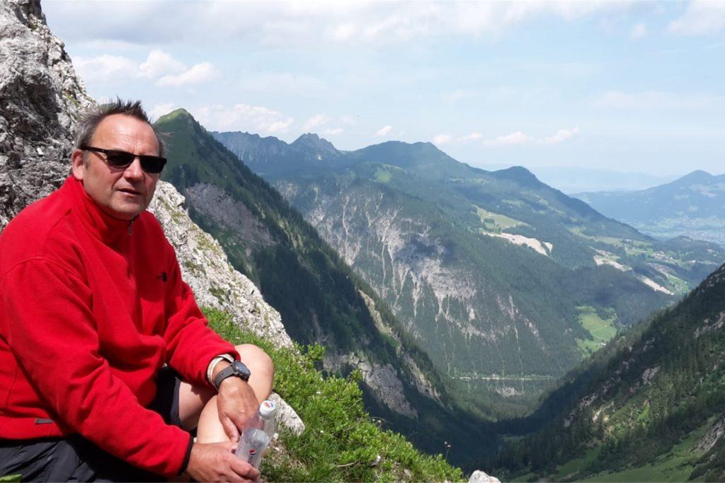 Dr. Jürgen Domjahn ist erster Vorsitzender des Dortmunder Alpenvereins. Er unternimmt öfter Ausflüge in bergige Regionen, doch auch Dortmund hat seiner Meinung nach einiges zu bieten.