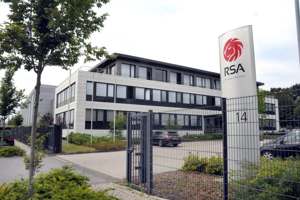 Bei der Firma RSA Cutting Systems an der Adolph-Kolping-Straße sind derzeit 101 Mitarbeiter beschäftigt.