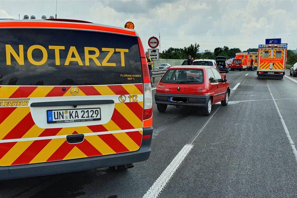 Es waren mehrere Notärzte und Rettungswagen im Einsatz.