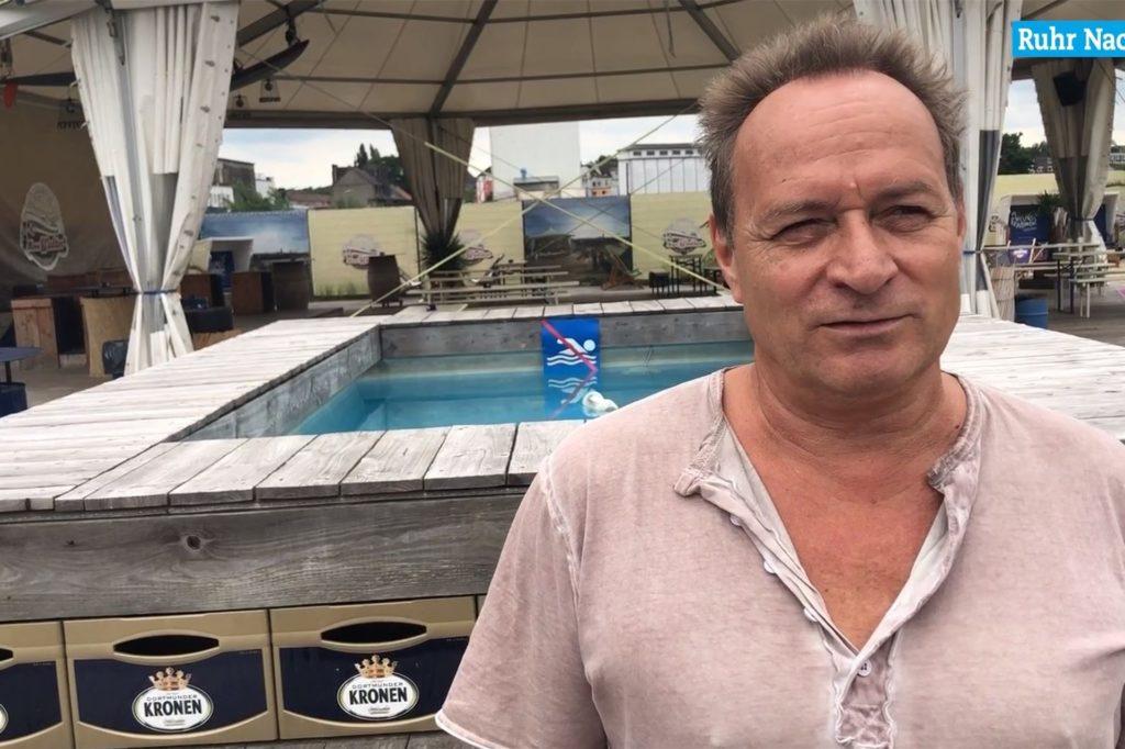 Oliver Buschmann, Betreiber des Eventschiffs Herr Walter im Hafen fragt die OB-Kandidaten, wie sie der Gastronomie und der Eventbranche das Überleben in der Corona-Krise erleichtern wollen.