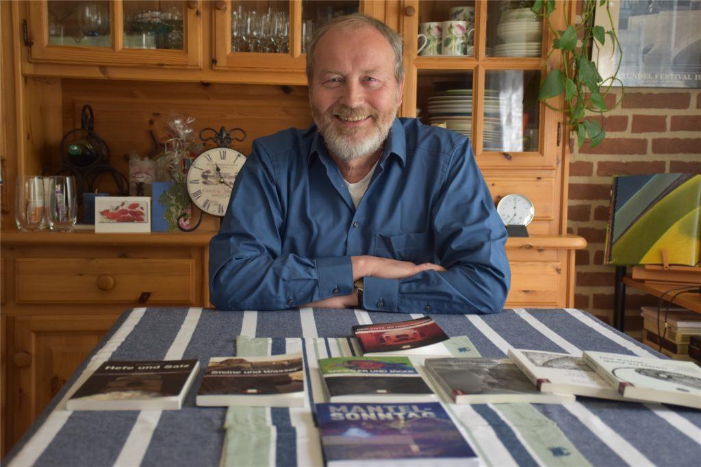 Autor Hans-Bernd Bunte hat bereits vier regional-historische Kriminalromane veröffentlicht, sein aktuelles Werk heißt