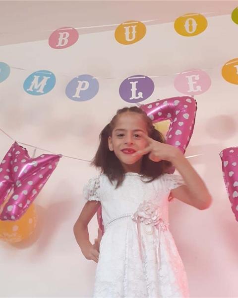 Amelia feierte jetzt ihren 7. Geburtstag.