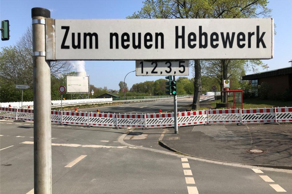 Die Hebewerksbrücke in Henrichenburg ist immer noch gesperrt. Der Abschluss der Bauarbeiten verzögert sich weiter.