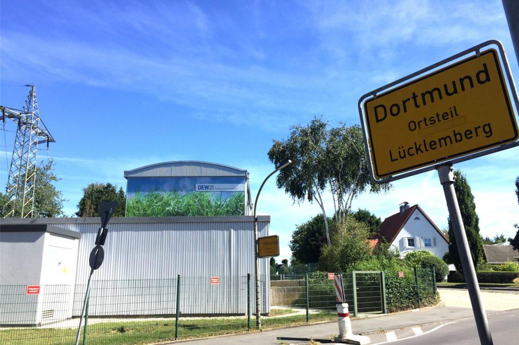 Dieses Trafohaus an der Ecke Batheyweg, Hollmann-/Olpketalstraße könne, so die CDU, nach den Maßnahmen verschwinden.