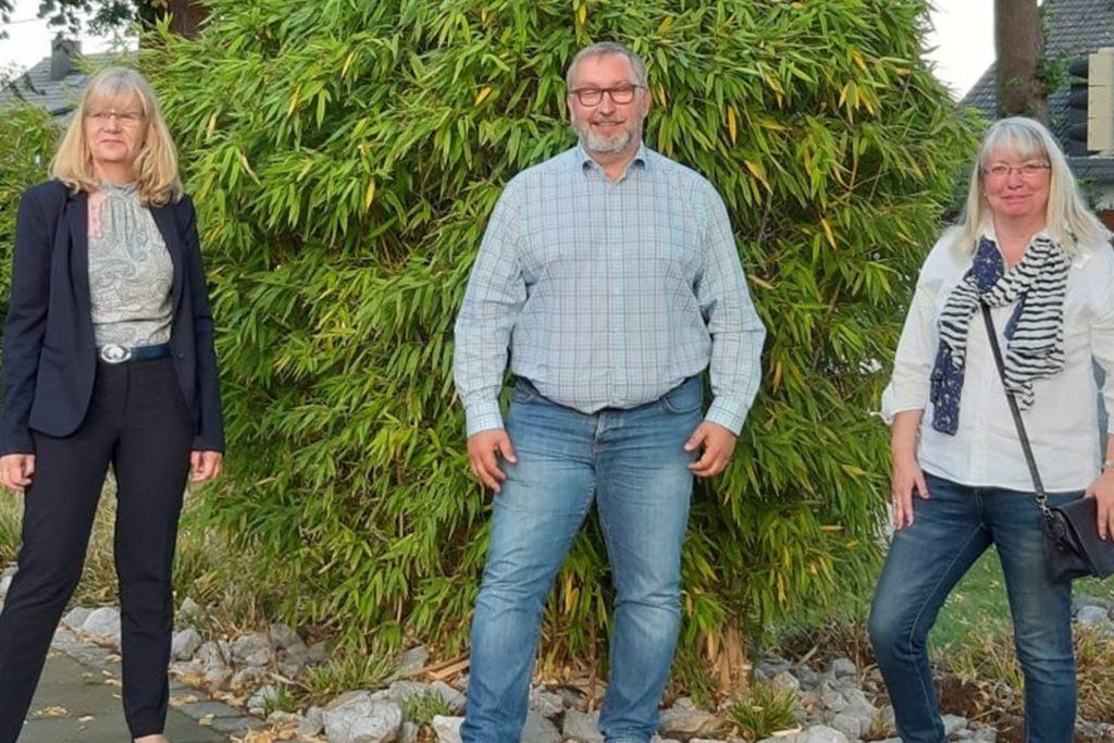 Annette Becker (Wahlkreis 33), Sabine Rollwagen (Wahlkreis 34) und Michael Zechner (Wahlkreis 35) bilden das Ratskandidaten-Team der CDU im Stadtbezirk Lütgendortmund. Rollwagen ist für Petra Trümper nachgerückt.