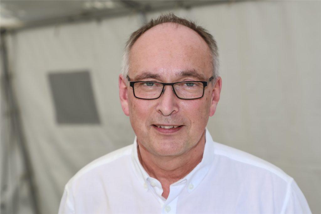 Dr. Frank Renken ist der Leiter des städtischen Gesundheitsamtes.