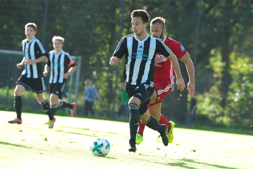 Giacomo Lopez Fernandez ist in diesem Sommer zum SV Lippramsdorf zurückgekehrt und überzeugt nun auf einer neuen Position.