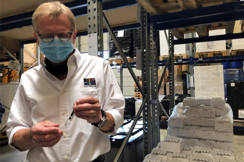 Dr. Elmar Grabert von der Tintometer GmbH in Dortmund