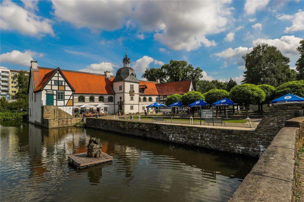 Haus Rodenberg in Aplerbeck ist ein guter Ausgangspunkt für eine Radtour entlang der Emscher.