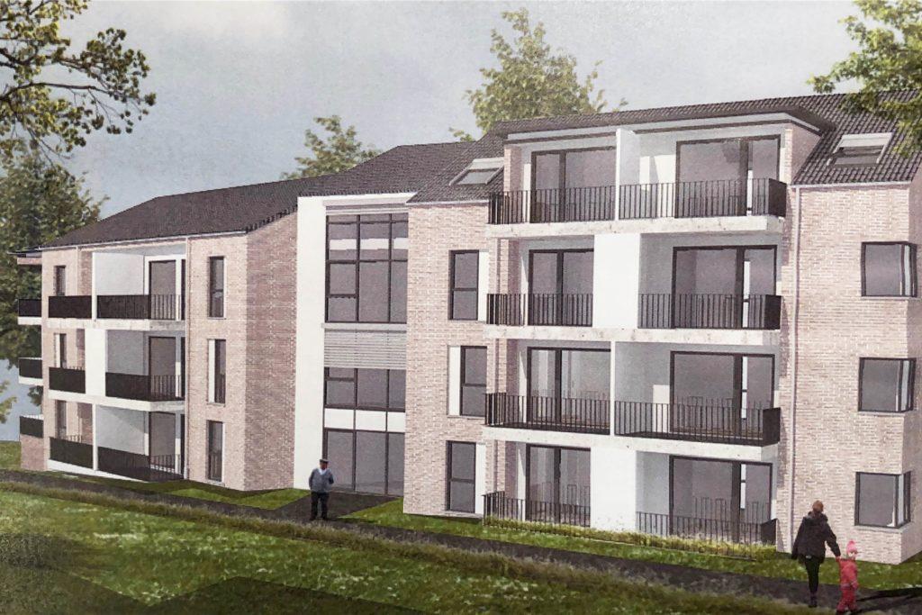 17 barrierefreie Wohnungen sollen in das neue Gebäude passen.