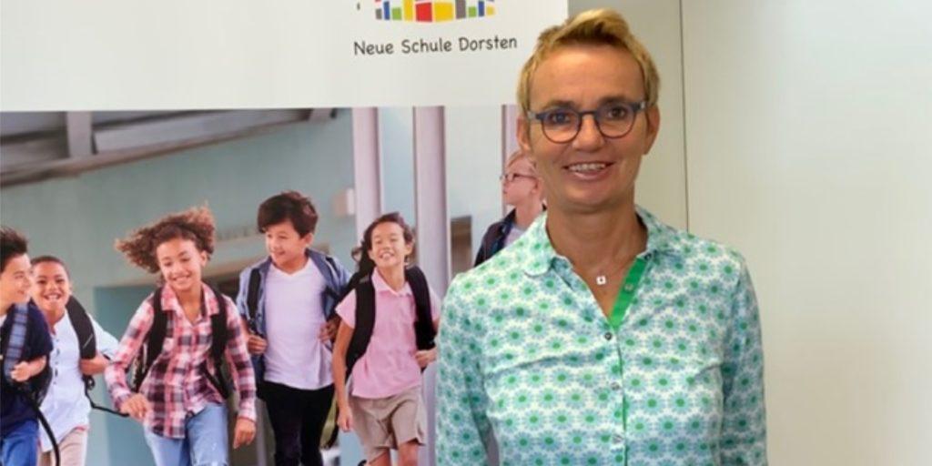 Susanne Bender leitet die Neue Schule.