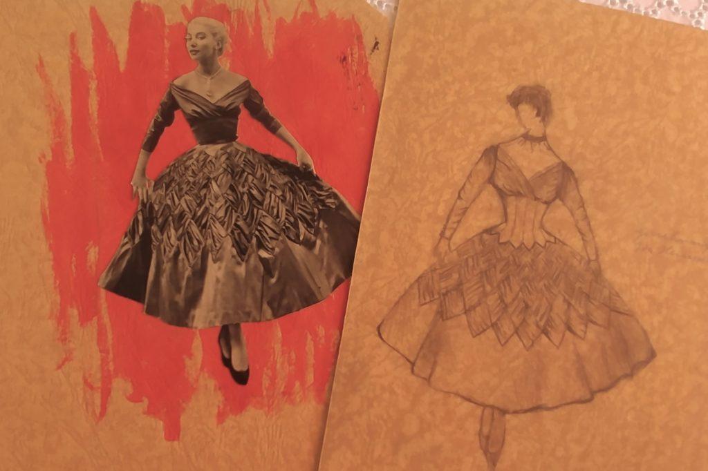 Auch Skizzen wurden per Hand angefertigt.