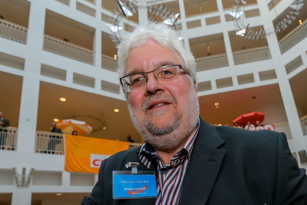 Heiner Garbe von der AfD in Dortmund