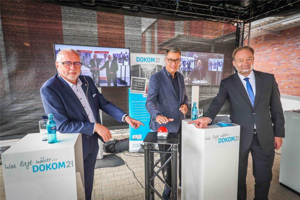 Start des Ruhr-Backbone in Dortmund