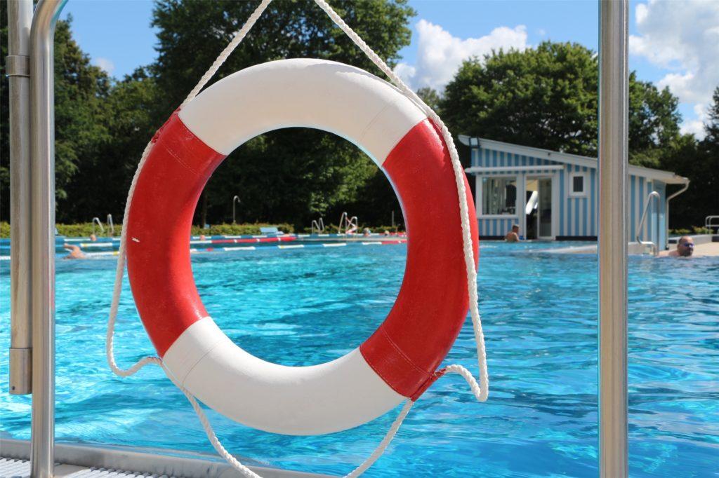 In den Fokus in Corona-Zeiten stellten die Betreiber des Stadtlohner Freibades die Sicherheit aller Beteiligten. Maximal 150 Badegäste konnten gleichzeitig in Zwei-Stunden-Fenstern ihrem Badevergnügen nachgehen.