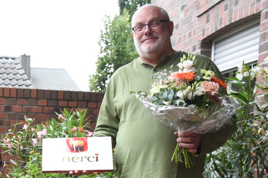 Clemens Sprey von der EUTB hat Gaby Wigber bei vielen Dingen geholfen.