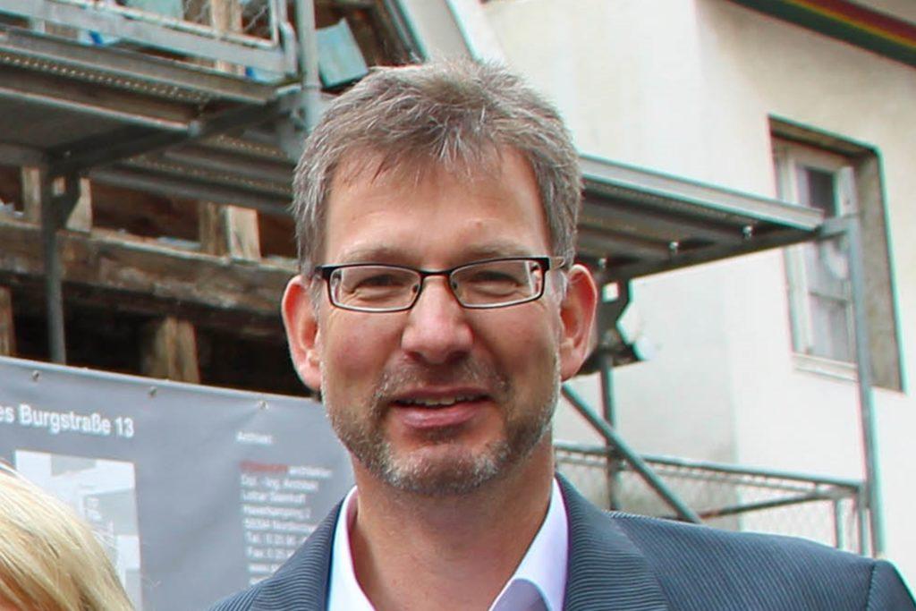 Ralf Bülte, Diplomingenieur und Stadtplaner bei der Stadt Werne