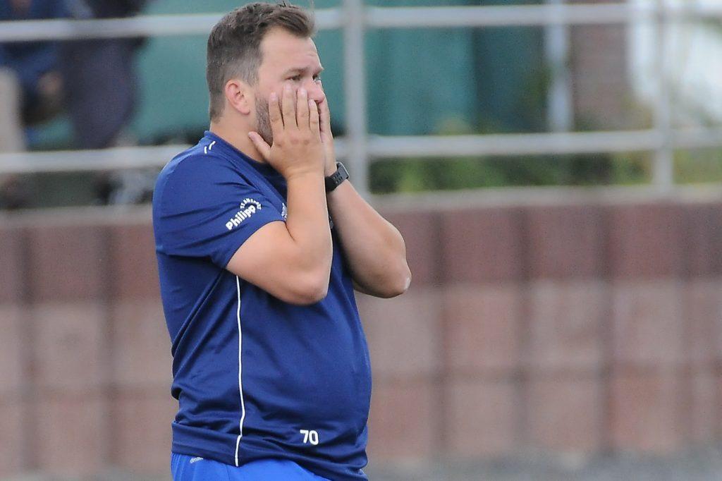 Trainer Marc Olschewski macht sich Sorgen um sein Team des VfB Habinghorst.
