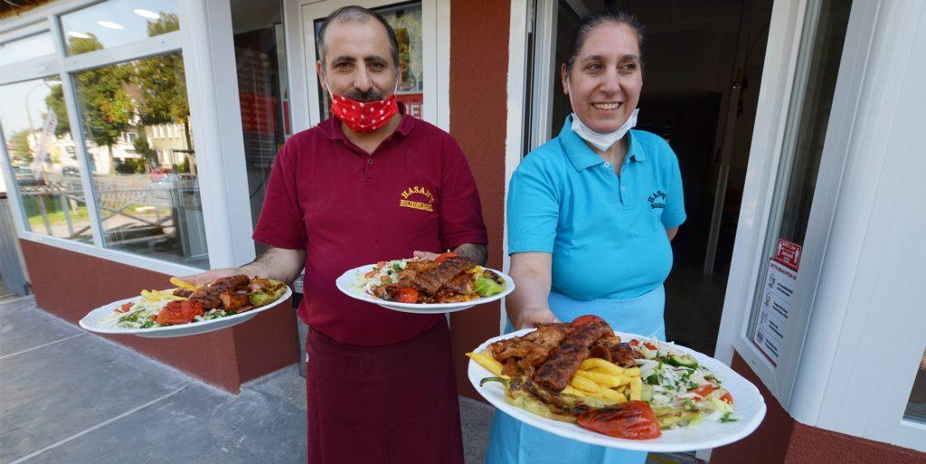 Hasan und Nurdal Güler servieren nun ihre Gerichte an einer neuen Adresse.
