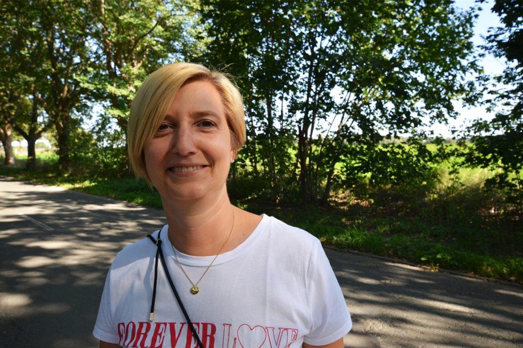 Nina Lamhaouch hat das Gefühl, dass Schwieringhausen für die Verantwortlichen bei Stadt und Schifffahrtsamt nicht so wichtig ist.