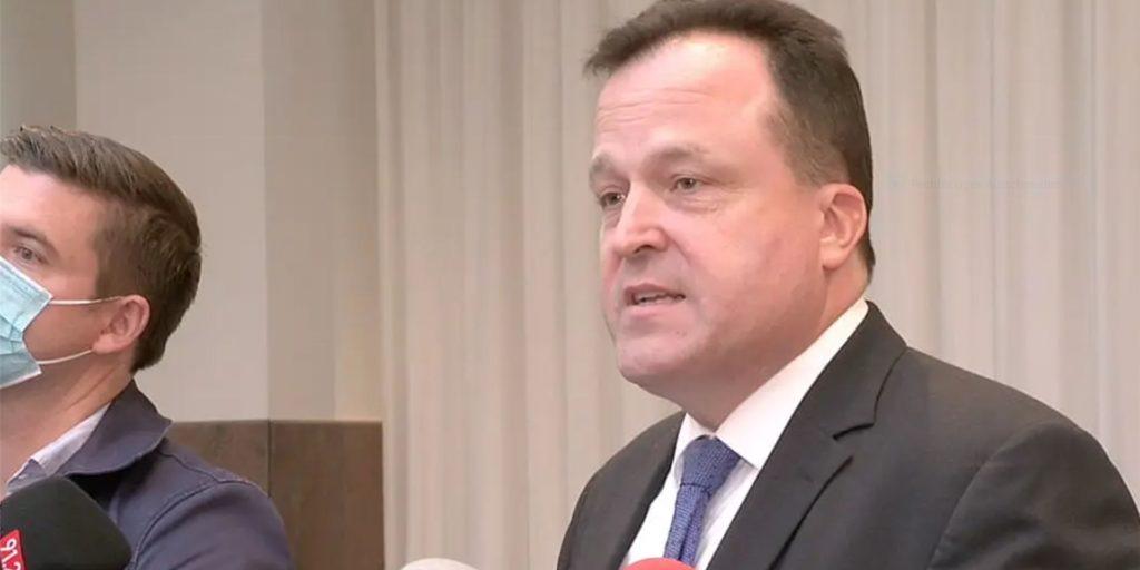 Wahlleiter Norbert Dahmen (CDU) zur Verlauf der Stichwahl.