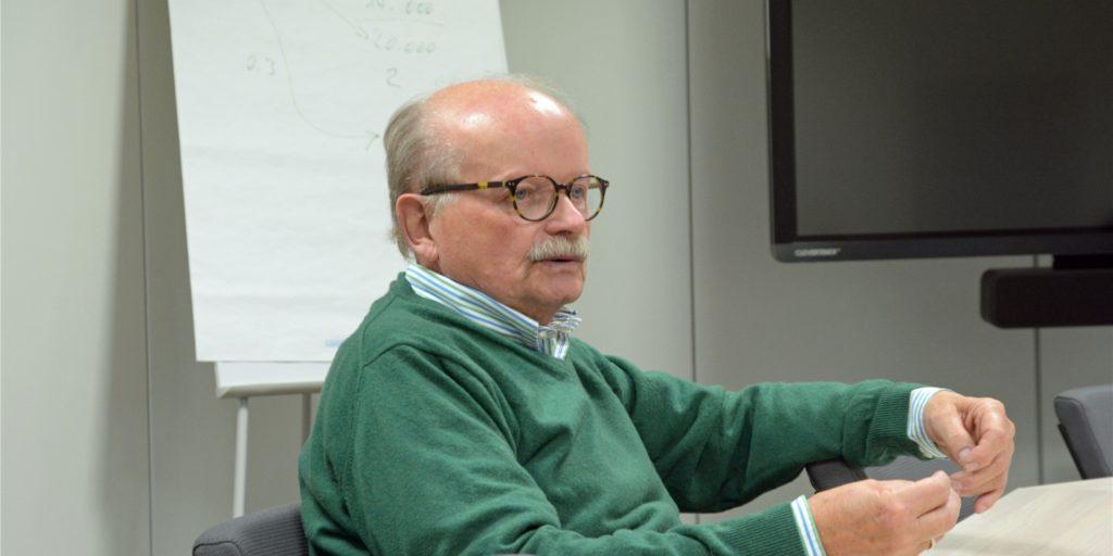 """Rainer Schulz - auch bekannt als """"Mr. Sim-Jü"""" - ist froh über das Alternativ-Event, das Ende Oktober auf dem Hagen stattfinden soll."""