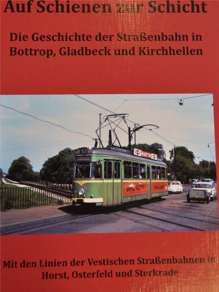 Der Kirchhellener Klaus Giesen hat 2017 sogar ein Buch über die Geschichte der Straßenbahnen in Bottrop, Gladbeck und Kirchhellen geschrieben.