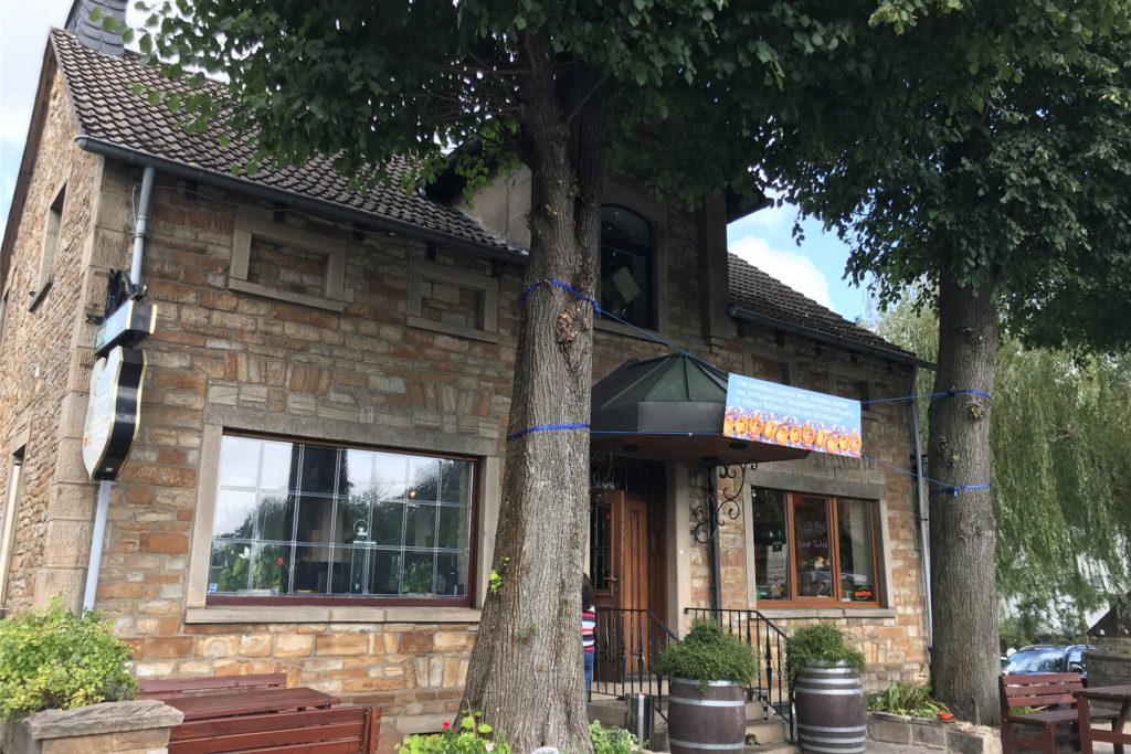 """Früher hieß das Restaurant am Ahlenberg """"Unter den Linden"""